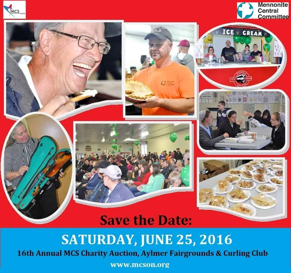 2016 Charity Auction Save the Date
