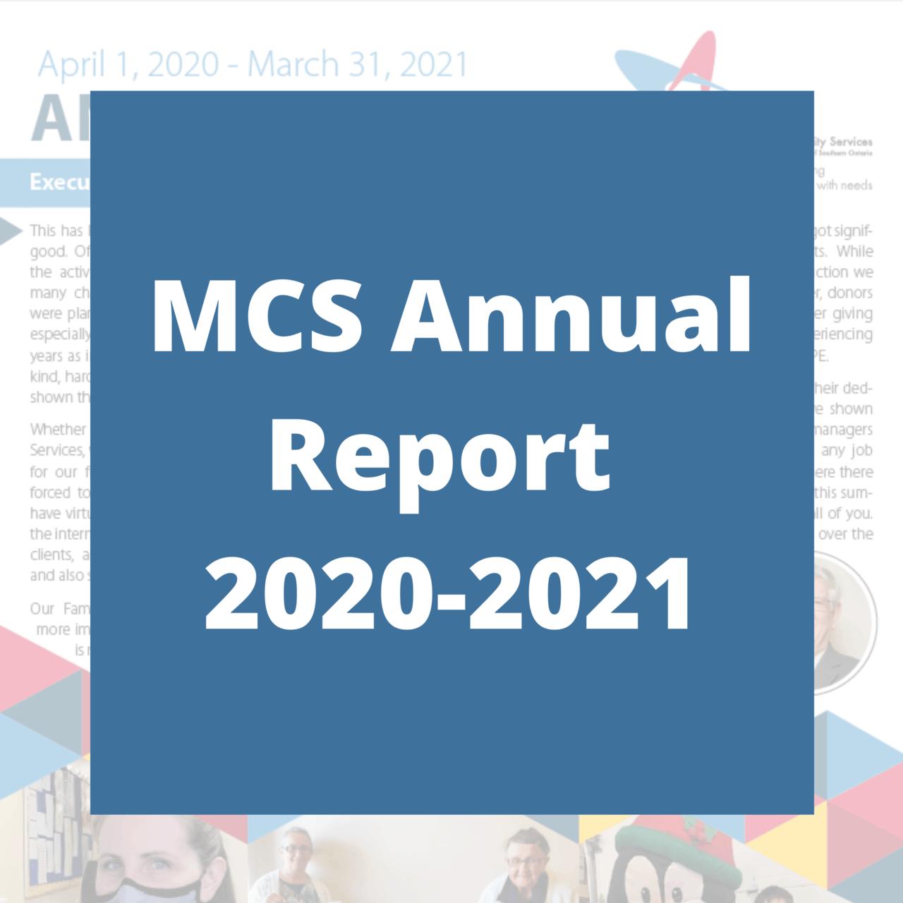 MCS Annual Report 2020-2021
